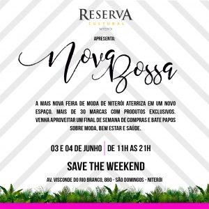 Evento de moda, beleza e bem-estar dia 03 e 04 de Junho no Reserva Cultural Niterói.